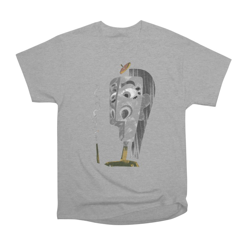 Unwinding in the Afterlife Women's Heavyweight Unisex T-Shirt by Eyeball Girl Creative