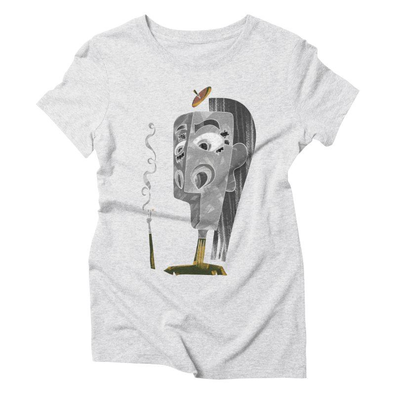Unwinding in the Afterlife Women's T-Shirt by Eyeball Girl Creative