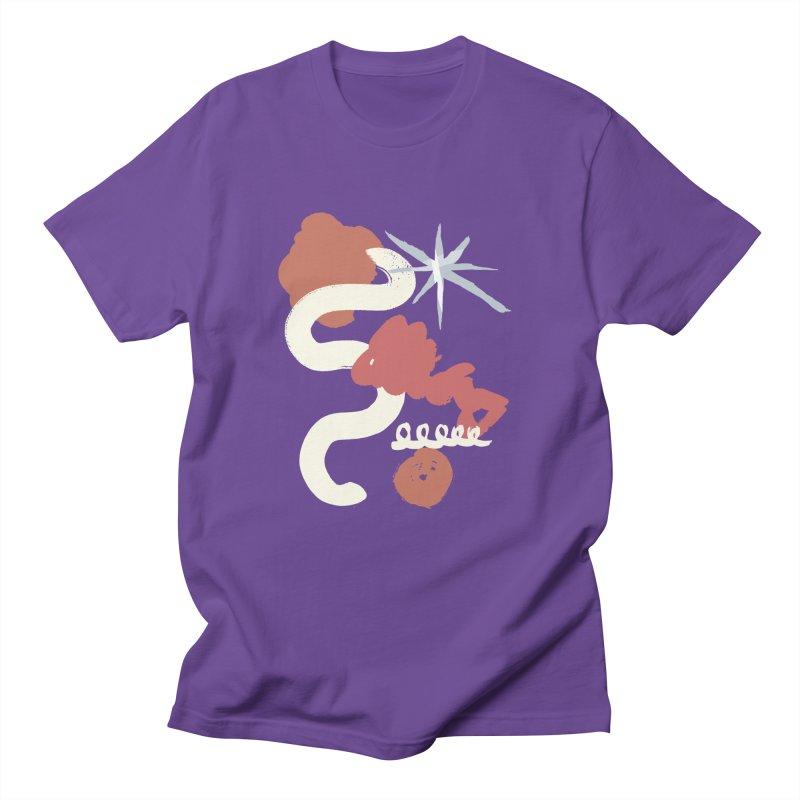 Orange Abstract Women's Regular Unisex T-Shirt by Eyeball Girl Creative