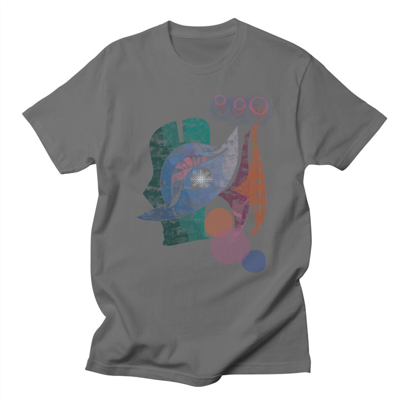 Avian Masquerade Men's T-Shirt by Eyeball Girl Creative