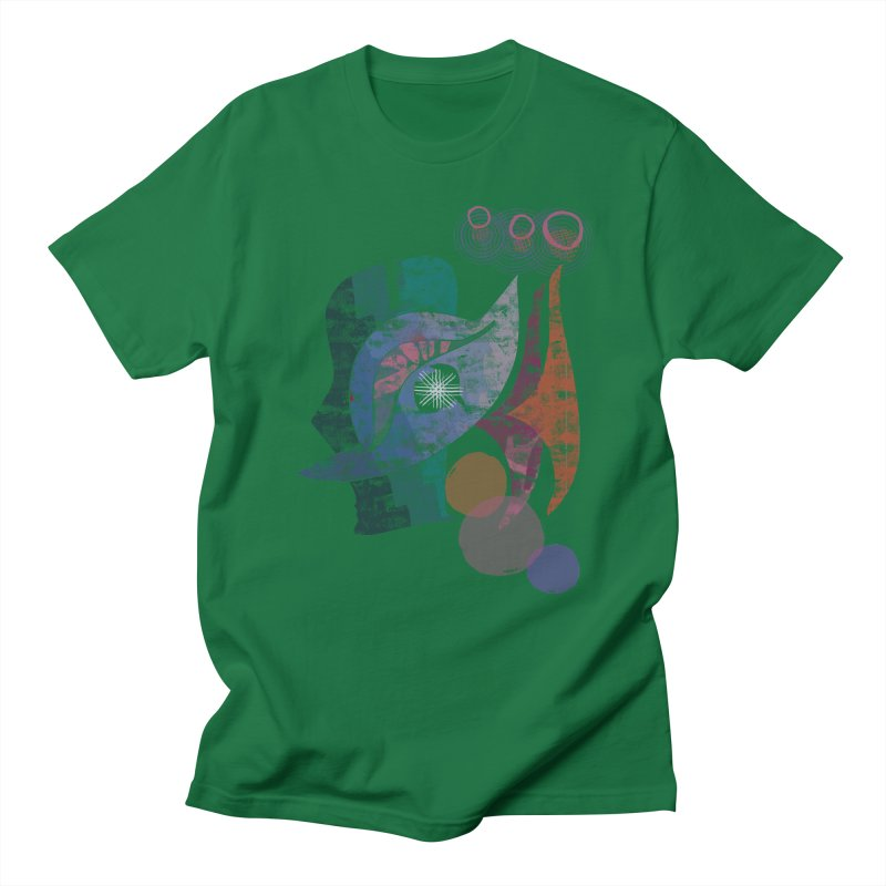 Avian Masquerade Men's Regular T-Shirt by Eyeball Girl Creative