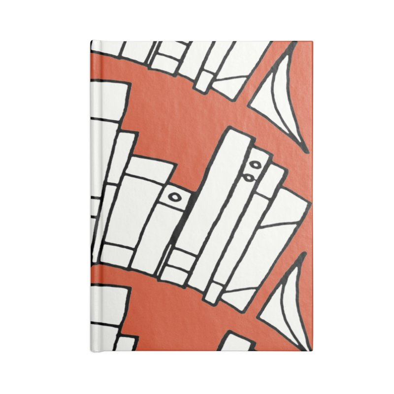 Knowledge is Power Accessories Lined Journal Notebook by Eyeball Girl Creative
