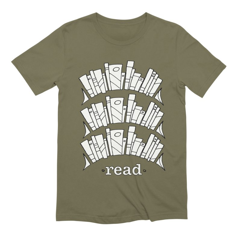 Knowledge is Power Men's Extra Soft T-Shirt by Eyeball Girl Creative
