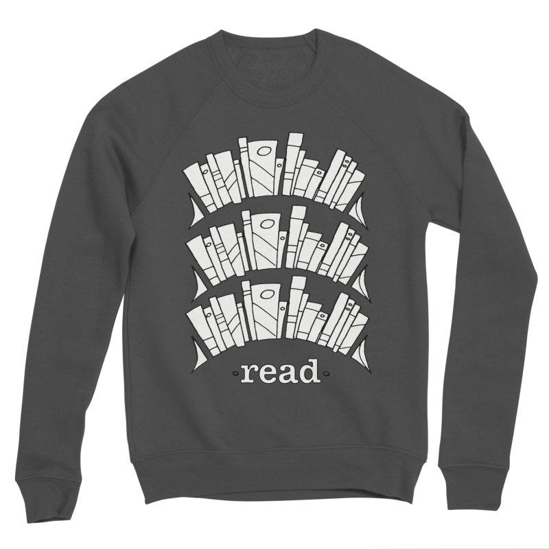 Knowledge is Power Men's Sponge Fleece Sweatshirt by Eyeball Girl Creative