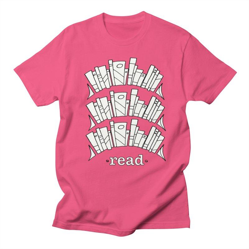 Knowledge is Power Men's Regular T-Shirt by Eyeball Girl Creative
