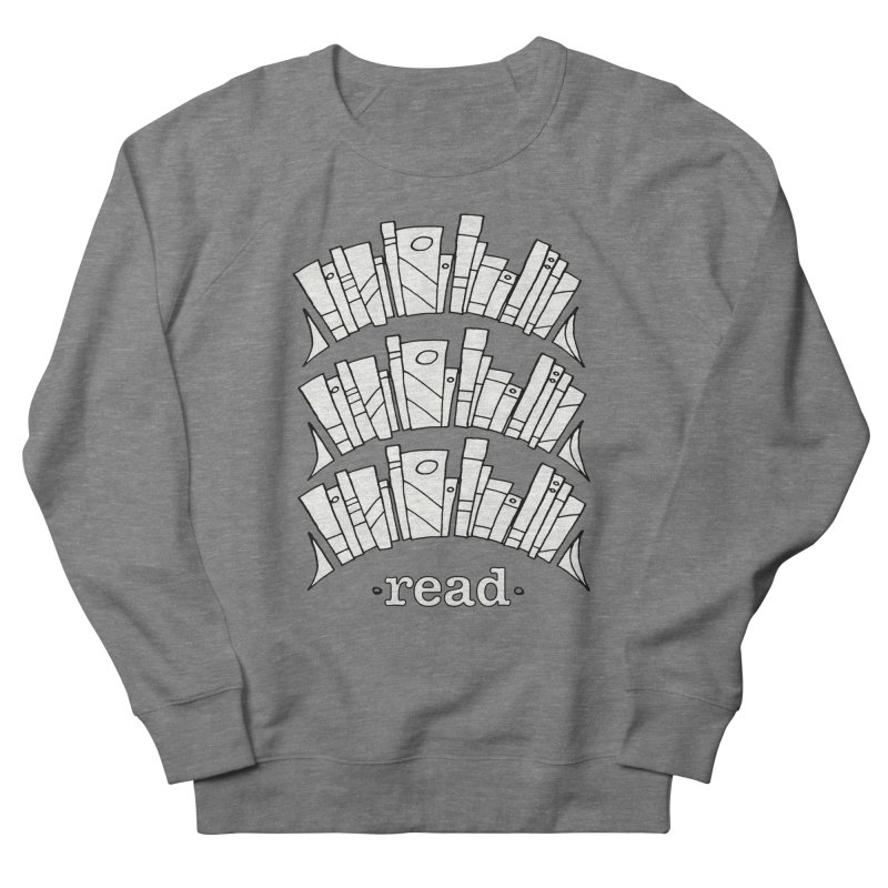 Knowledge is Power Men's French Terry Sweatshirt by Eyeball Girl Creative