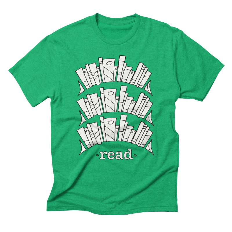 Knowledge is Power Men's Triblend T-Shirt by Eyeball Girl Creative