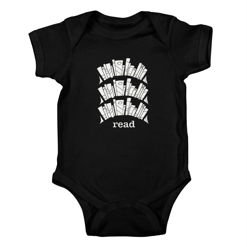 Knowledge is Power Kids Baby Bodysuit by Eyeball Girl Creative