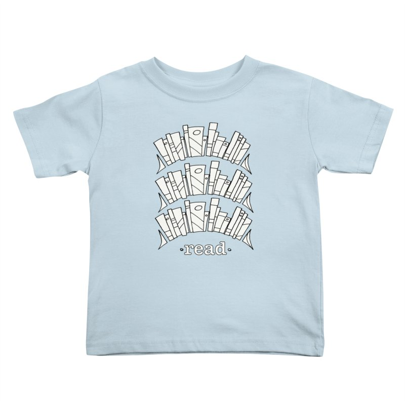 Knowledge is Power Kids Toddler T-Shirt by Eyeball Girl Creative