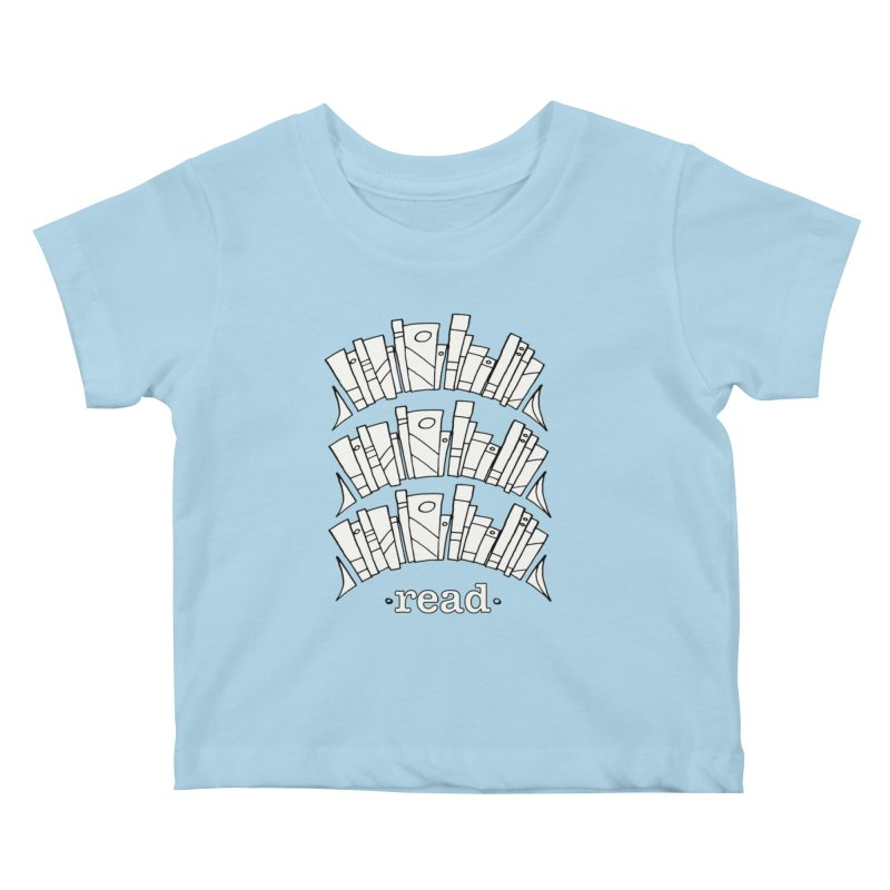 Knowledge is Power Kids Baby T-Shirt by Eyeball Girl Creative