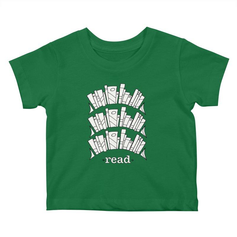 Knowledge is Power Kids Baby T-Shirt by Eyeball Girl Creative