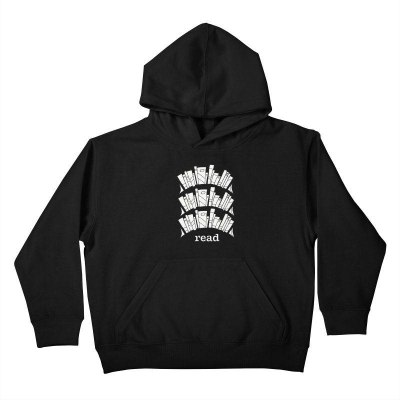 Knowledge is Power Kids Pullover Hoody by Eyeball Girl Creative