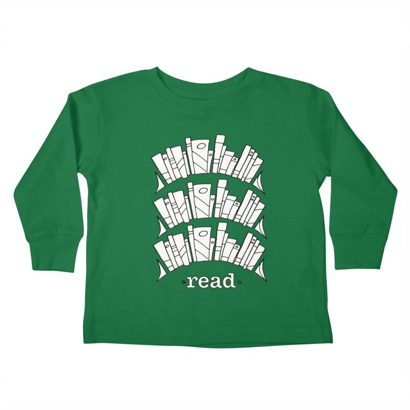 Knowledge is Power Kids Toddler Longsleeve T-Shirt by Eyeball Girl Creative
