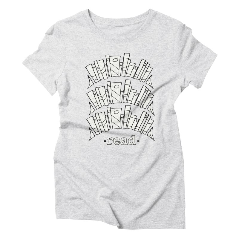 Knowledge is Power Women's Triblend T-Shirt by Eyeball Girl Creative