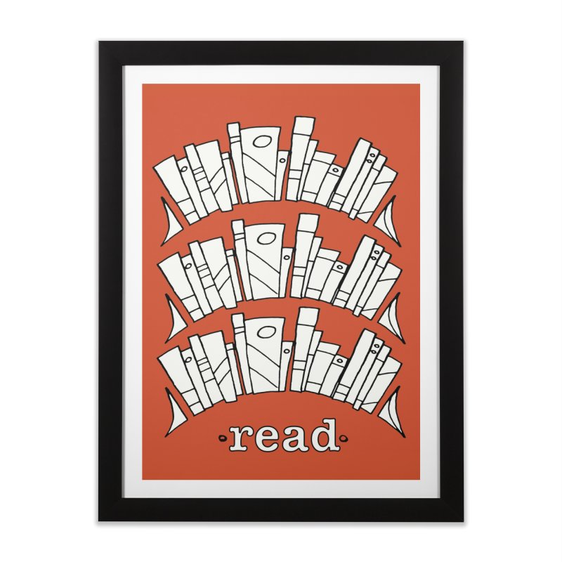Knowledge is Power Home Framed Fine Art Print by Eyeball Girl Creative
