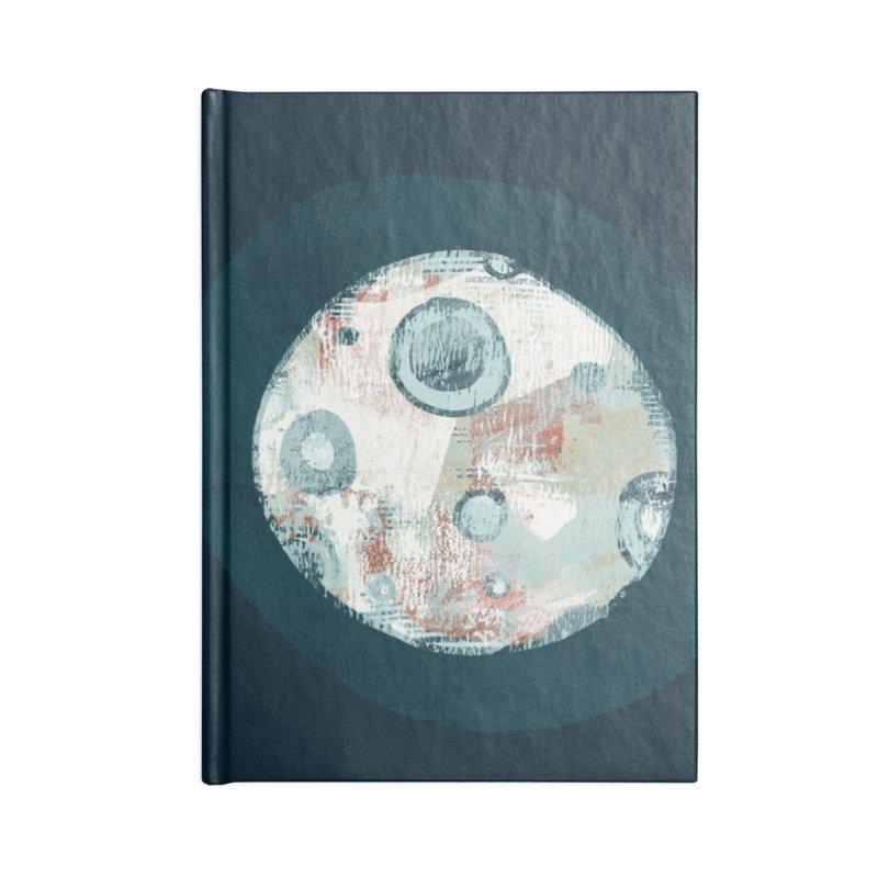 Blue Moon Accessories Blank Journal Notebook by Eyeball Girl Creative