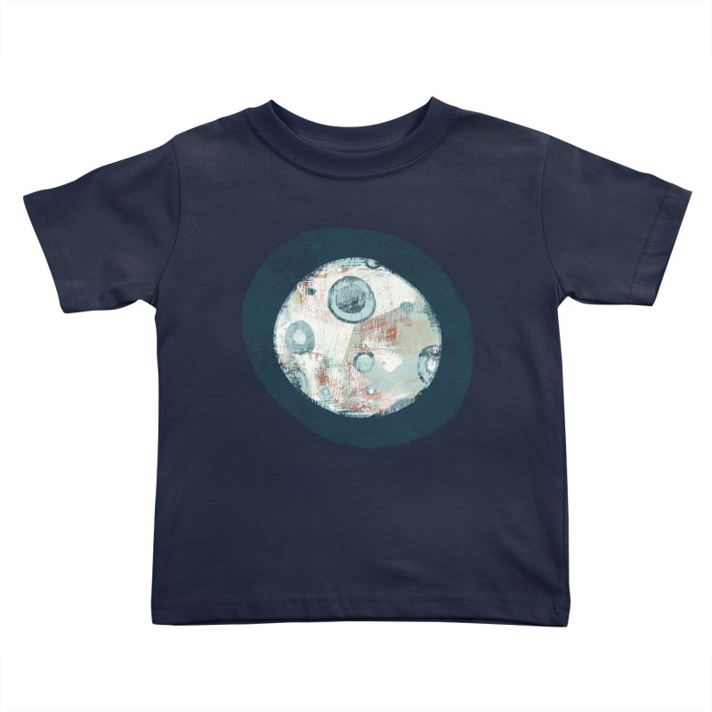 Blue Moon Kids Toddler T-Shirt by Eyeball Girl Creative