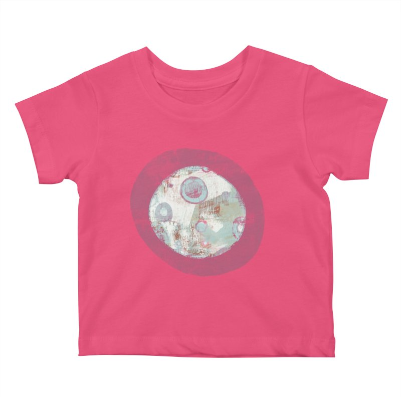 Blue Moon Kids Baby T-Shirt by Eyeball Girl Creative