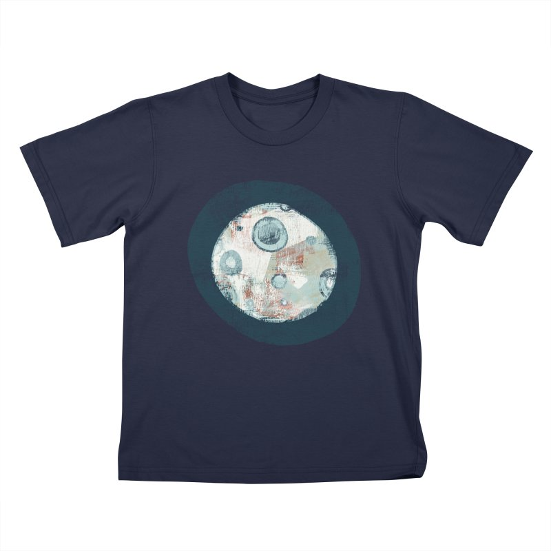 Blue Moon Kids T-Shirt by Eyeball Girl Creative