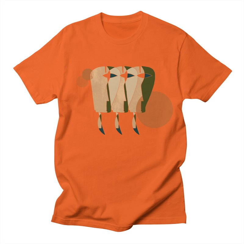 Face the Music Men's Regular T-Shirt by Eyeball Girl Creative