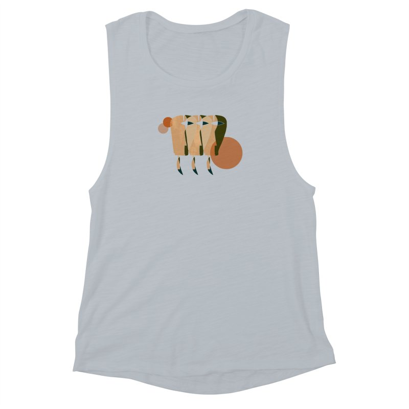 Face the Music Women's Muscle Tank by Eyeball Girl Creative