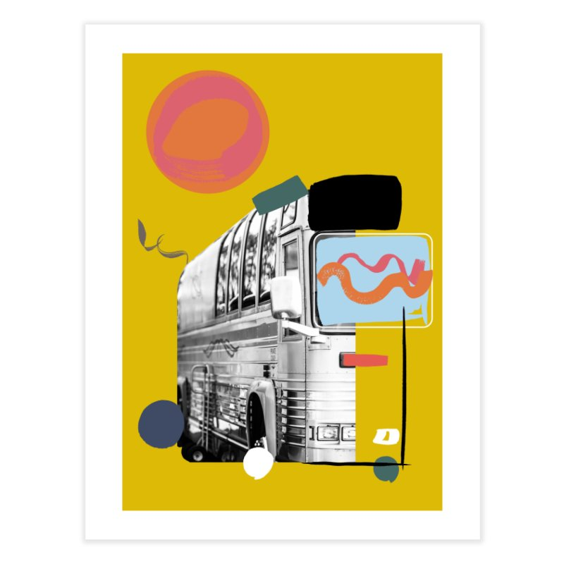Van-ity Home Fine Art Print by Eyeball Girl Creative
