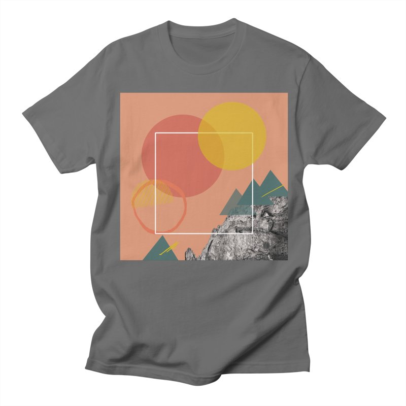 Mountain Range on Fire Women's Regular Unisex T-Shirt by Eyeball Girl Creative
