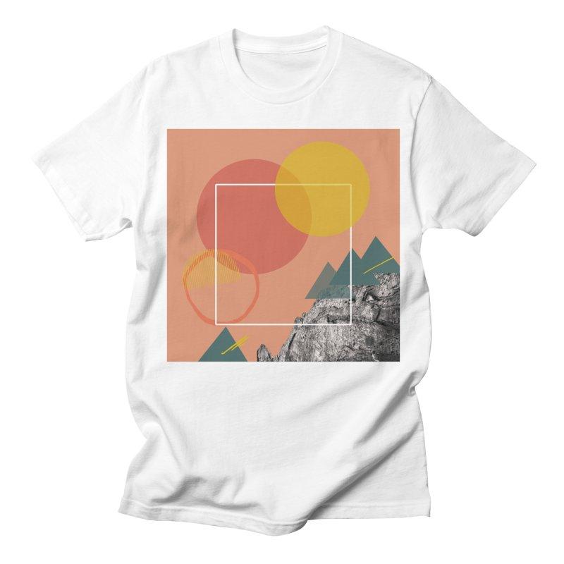 Mountain Range on Fire Women's Regular Unisex T-Shirt by Eyeball Girl Creative