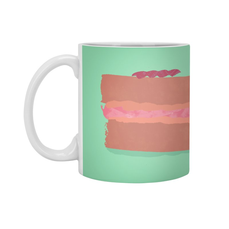 Macaron Accessories Standard Mug by Eyeball Girl Creative