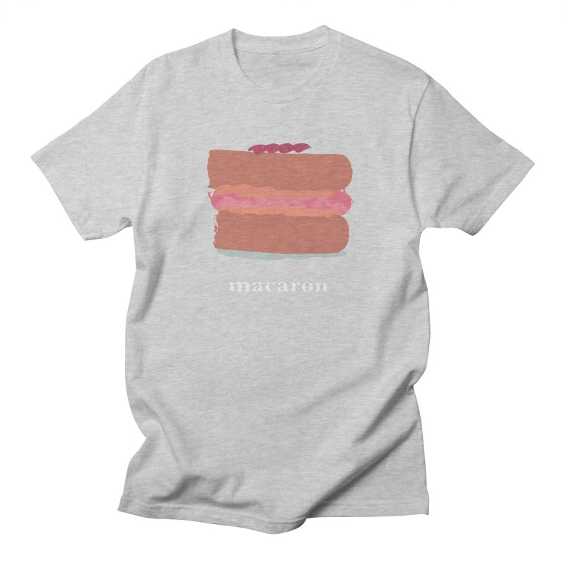 Macaron Women's Regular Unisex T-Shirt by Eyeball Girl Creative