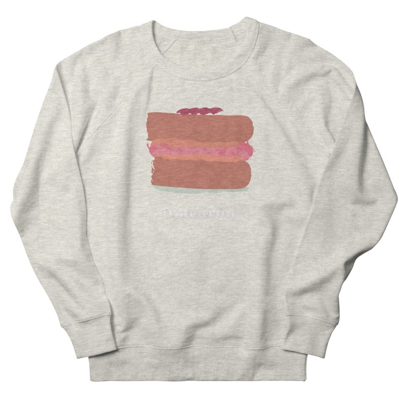 Macaron Women's French Terry Sweatshirt by Eyeball Girl Creative