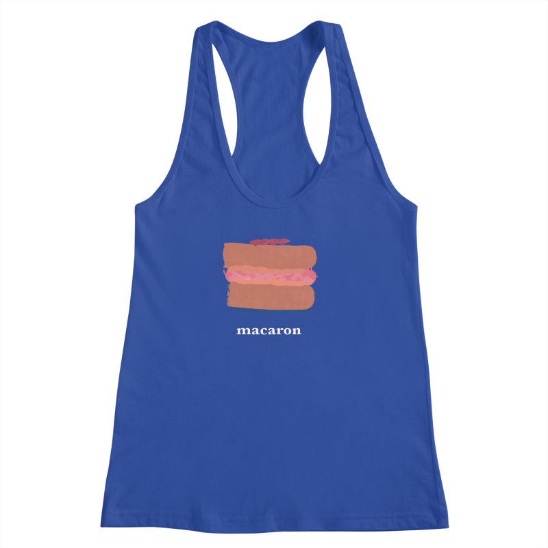 Macaron Women's Racerback Tank by Eyeball Girl Creative