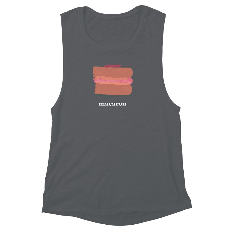 Macaron Women's Muscle Tank by Eyeball Girl Creative