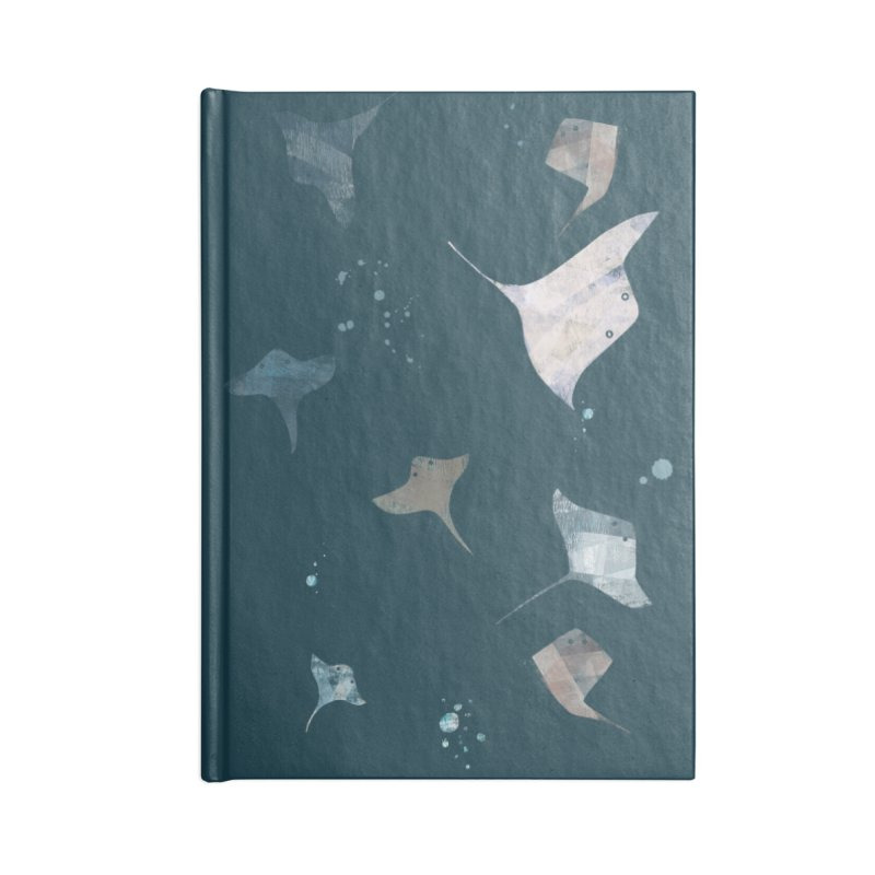 Sting//Ray Accessories Lined Journal Notebook by Eyeball Girl Creative