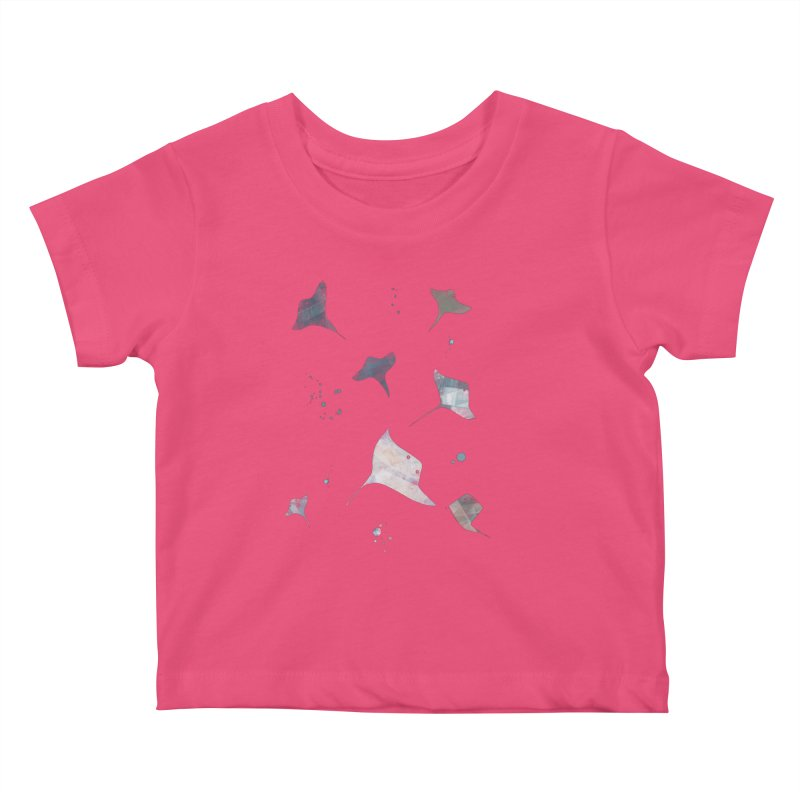 Sting//Ray Kids Baby T-Shirt by Eyeball Girl Creative