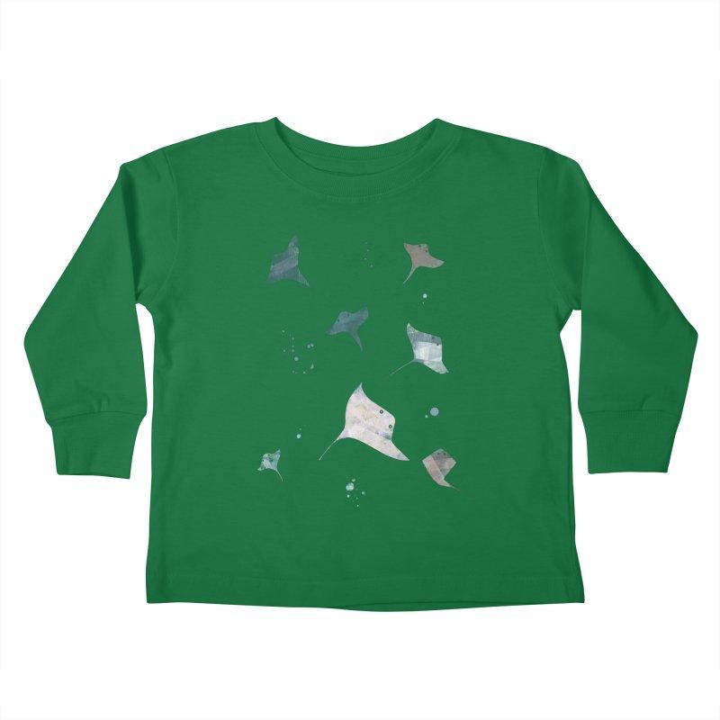 Sting//Ray Kids Toddler Longsleeve T-Shirt by Eyeball Girl Creative