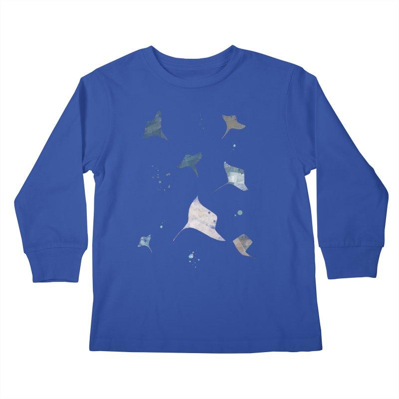 Sting//Ray Kids Longsleeve T-Shirt by Eyeball Girl Creative