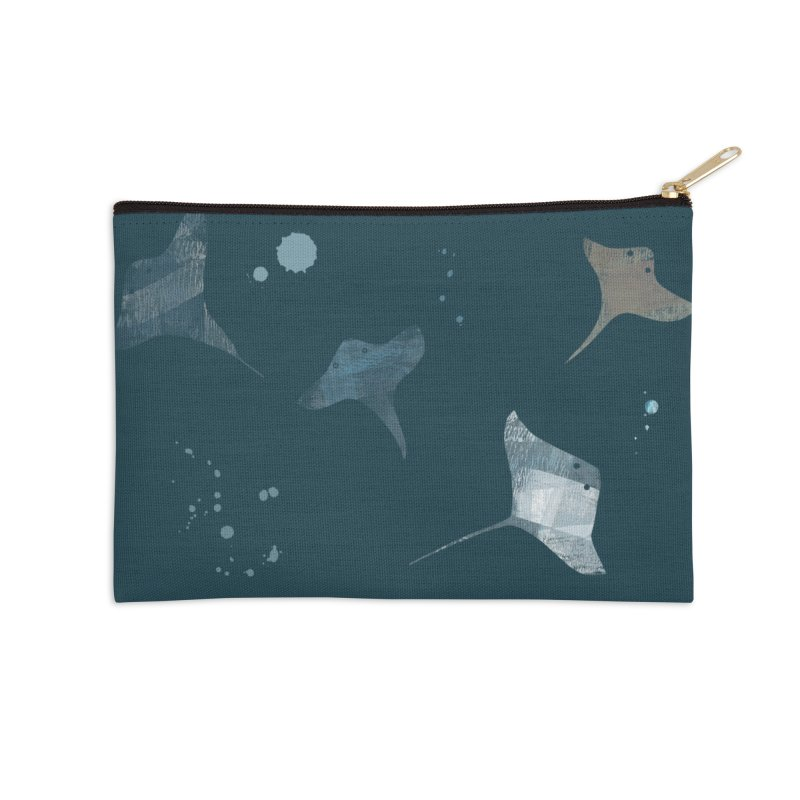 Sting//Ray Accessories Zip Pouch by Eyeball Girl Creative