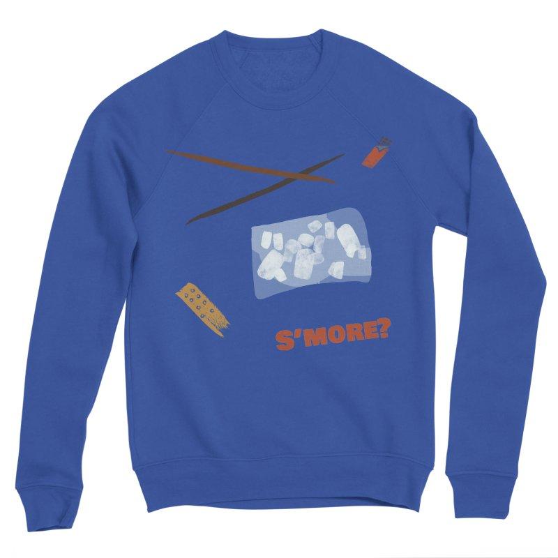 S'more? Men's Sponge Fleece Sweatshirt by Eyeball Girl Creative
