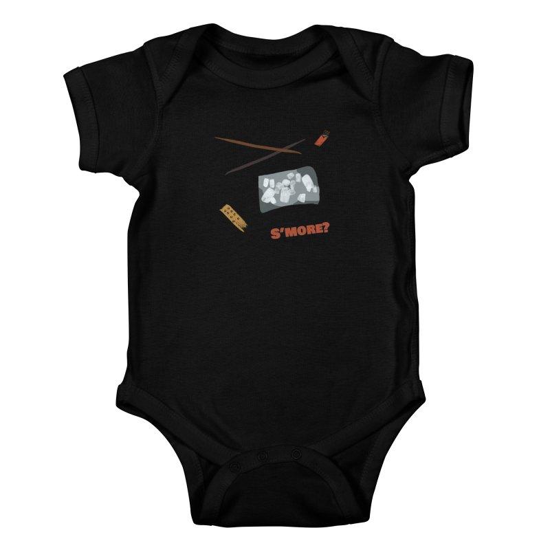 S'more? Kids Baby Bodysuit by Eyeball Girl Creative