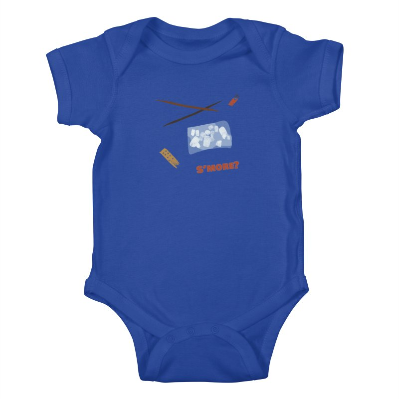 S'more? Kids Baby Bodysuit by Eyeball Girl Creative