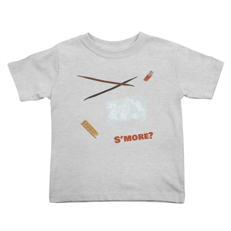 S'more? Kids Toddler T-Shirt by Eyeball Girl Creative