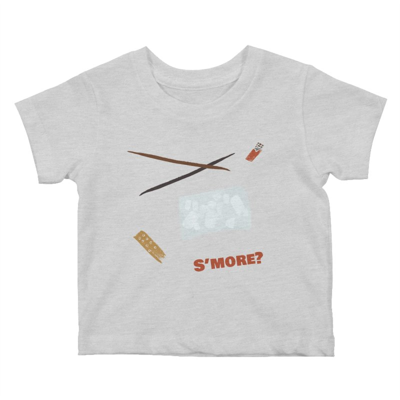 S'more? Kids Baby T-Shirt by Eyeball Girl Creative
