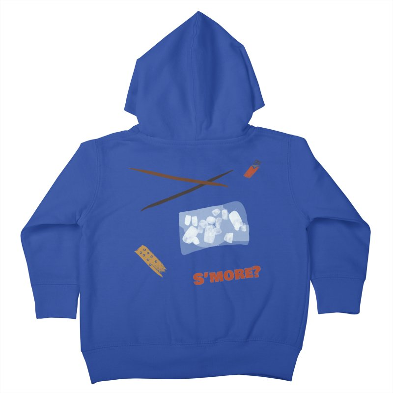 S'more? Kids Toddler Zip-Up Hoody by Eyeball Girl Creative