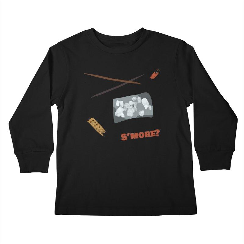 S'more? Kids Longsleeve T-Shirt by Eyeball Girl Creative