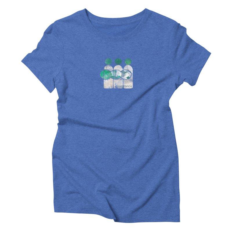 Fragrance Women's Triblend T-Shirt by Eyeball Girl Creative