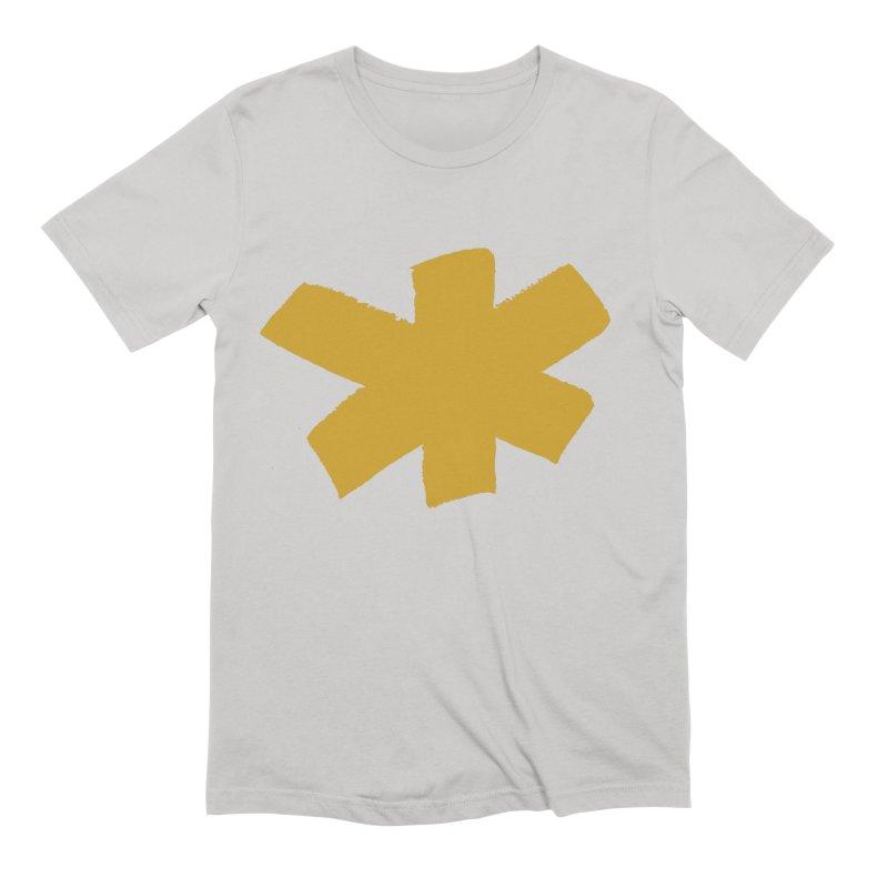 Gold Star Men's Extra Soft T-Shirt by Eyeball Girl Creative
