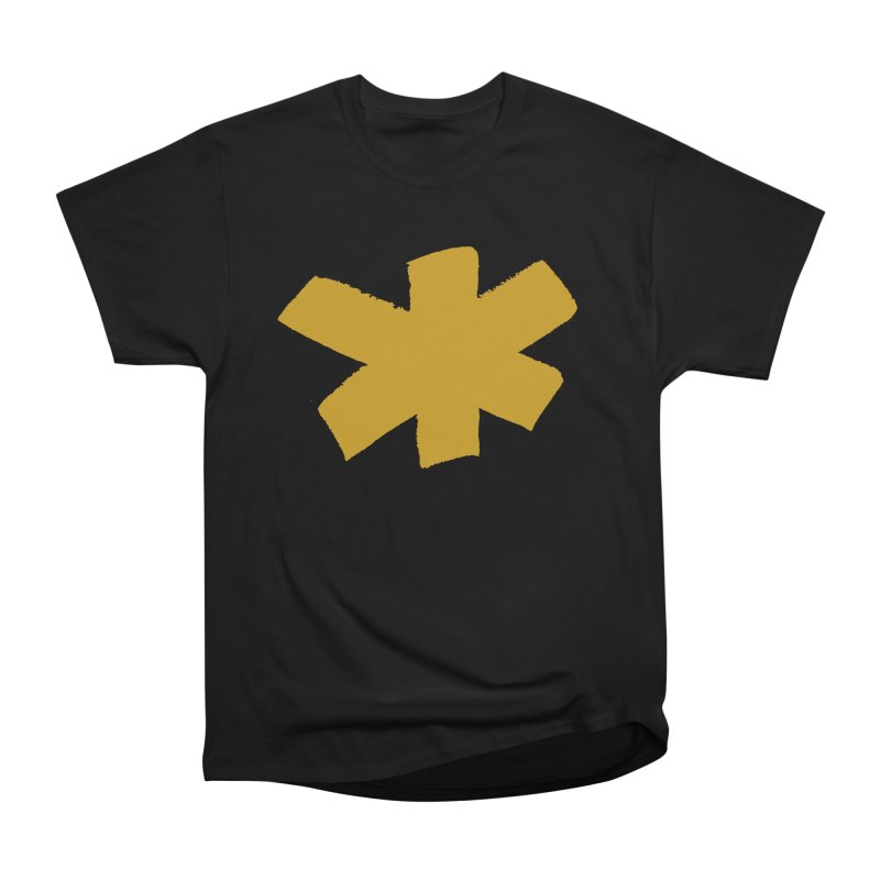 Gold Star Women's Heavyweight Unisex T-Shirt by Eyeball Girl Creative