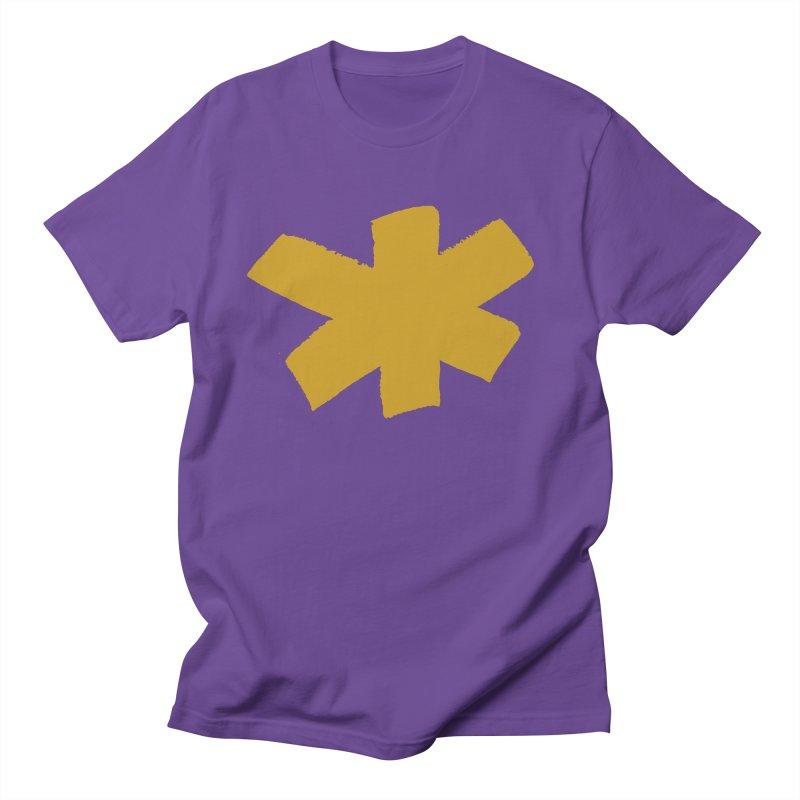 Gold Star Women's Regular Unisex T-Shirt by Eyeball Girl Creative