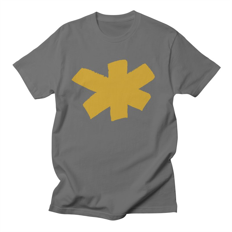 Gold Star Men's Regular T-Shirt by Eyeball Girl Creative